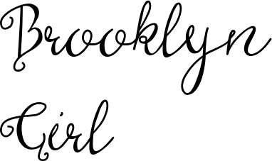 Brooklyn Girl (Font) by The Pen and Brush · Creative Fabrica