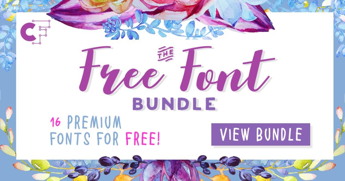 Download The Free Font Bundle (Bundle) · Creative Fabrica
