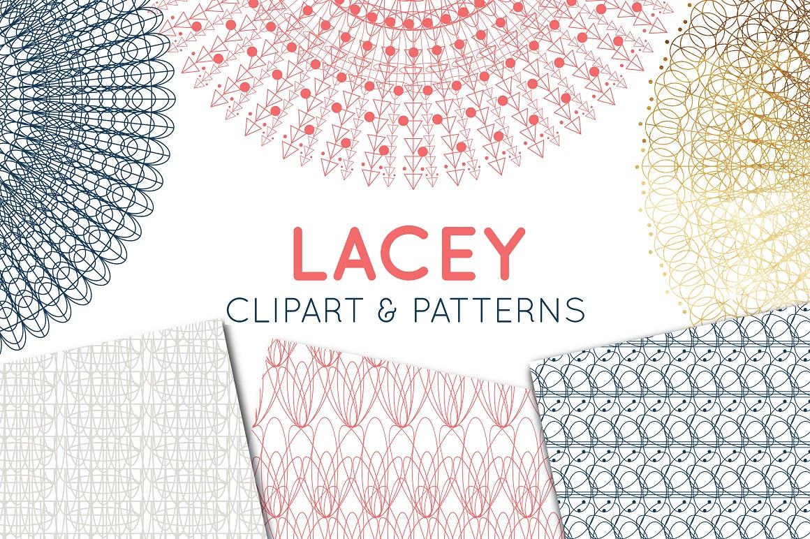 lace clipart lace border