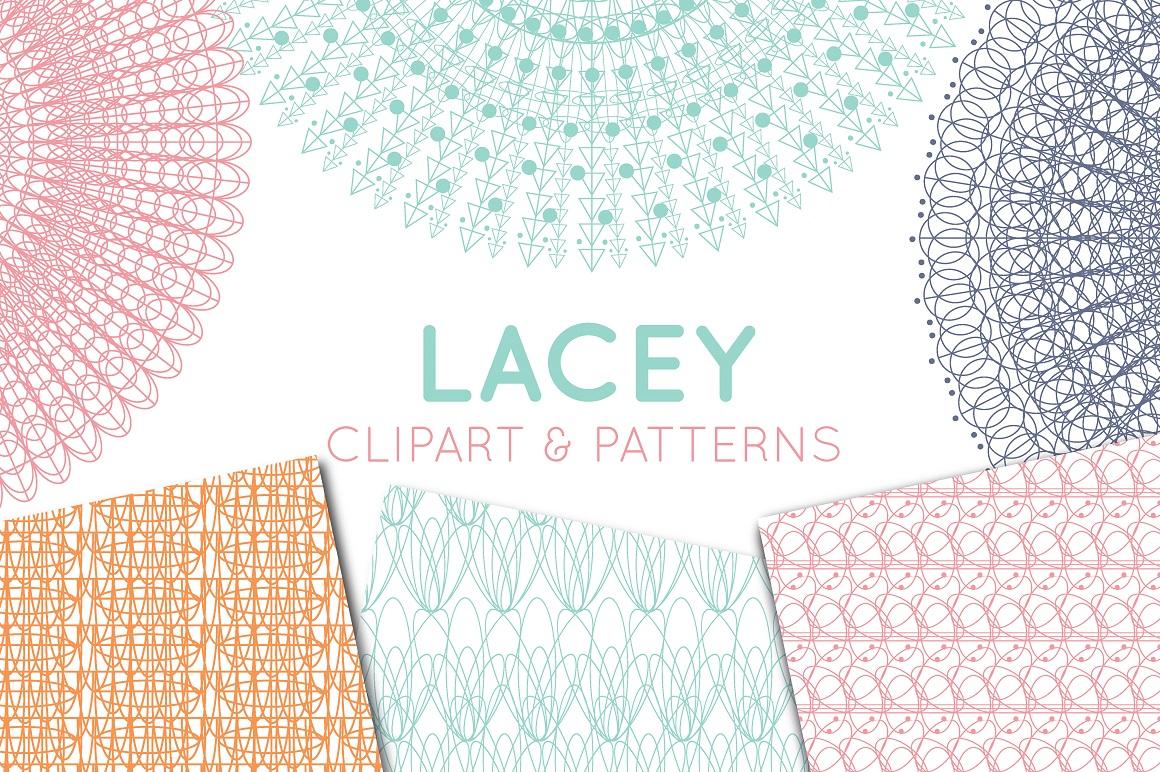 lace doily lace border