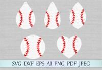 Baseball earrings SVG Graphic by MagicArtLab - Creative ...