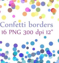 confetti borders clipart confetti clipart digital confetti confetti overlay graphic by chilipapers creative fabrica [ 4500 x 3000 Pixel ]