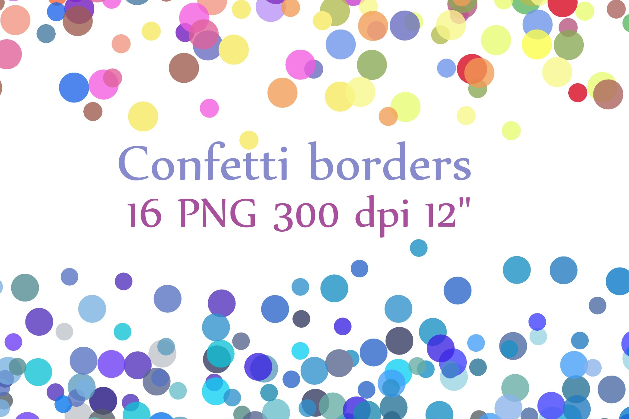 hight resolution of confetti borders clipart confetti clipart digital confetti confetti overlay graphic by chilipapers creative fabrica