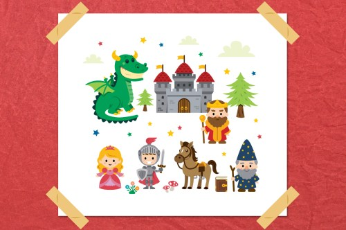 small resolution of fairy tale clipart