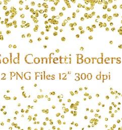 gold confetti borders clipart glitter confetti clipart glitter confetti clip art graphic by chilipapers creative fabrica [ 1162 x 775 Pixel ]