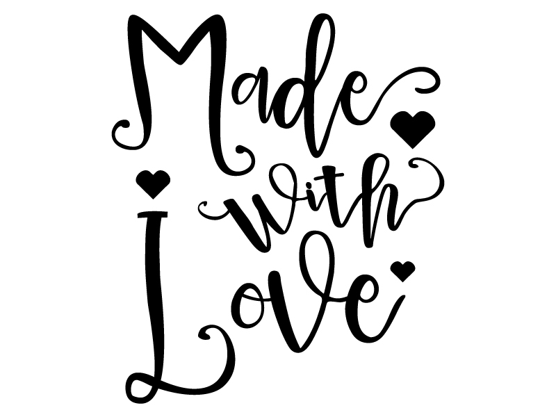 Download Made with Love Svg Dxf Png Jpg Eps Vector File Cut Files ...