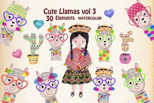 small resolution of llama clipart