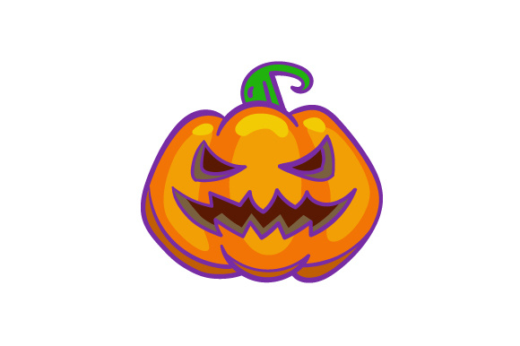 pumpkin with a scary