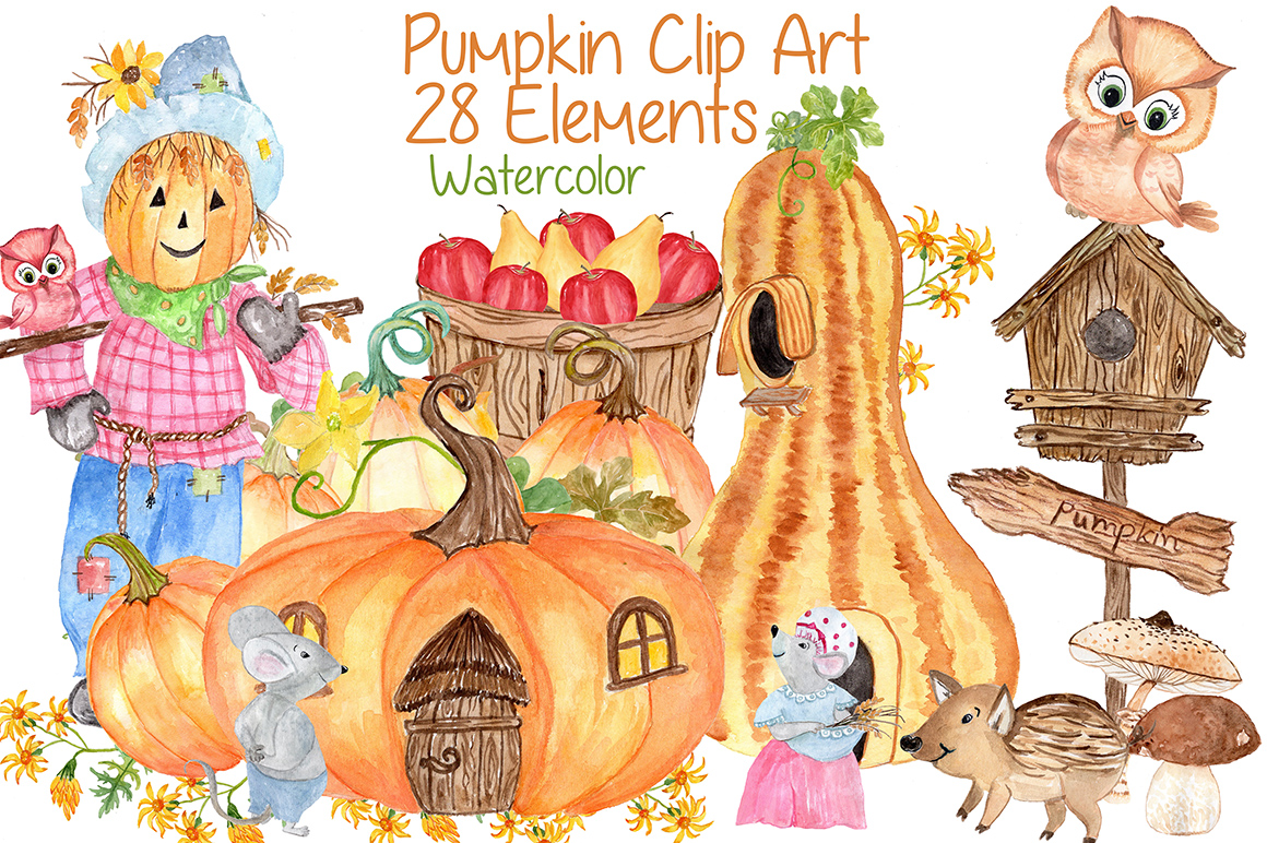 hight resolution of watercolor pumpkin clipart squash clipart thanksgiving clipart invitation clipart harvest clipart autumn vegetables graphic by vivastarkids creative