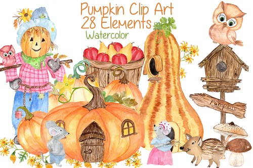 small resolution of watercolor pumpkin clipart squash clipart thanksgiving clipart invitation clipart harvest clipart autumn vegetables graphic by vivastarkids creative
