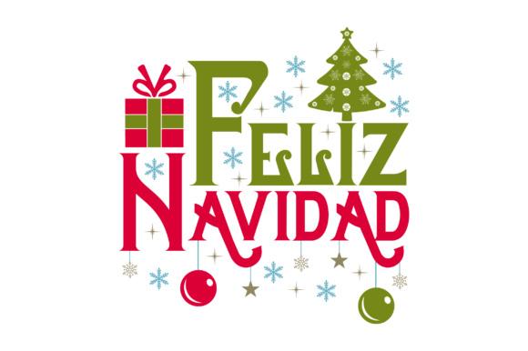 feliz navidad svg cut