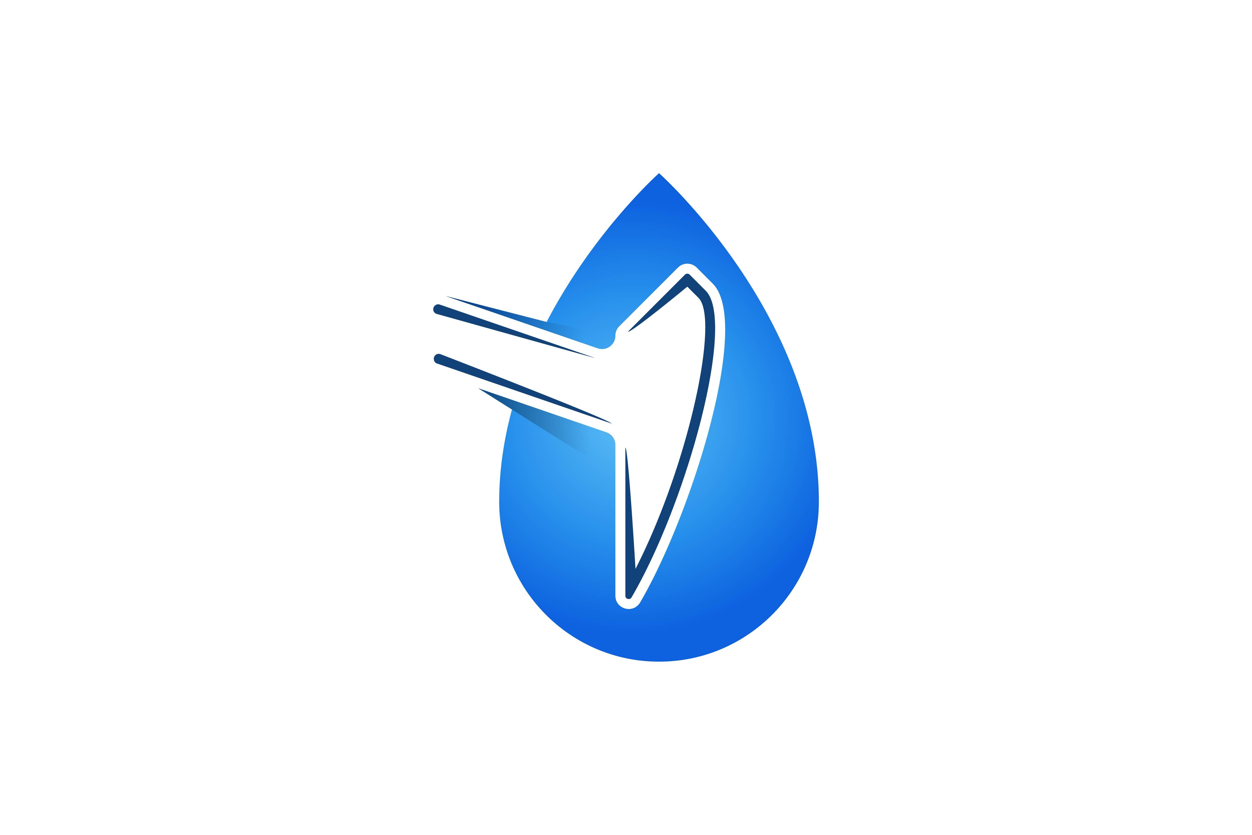 oil drop mining logo