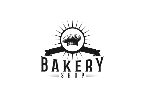 Vintage Bakery Shop Logo Graphic By Yahyaanasatokillah Creative