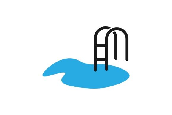 water stair beach swimming