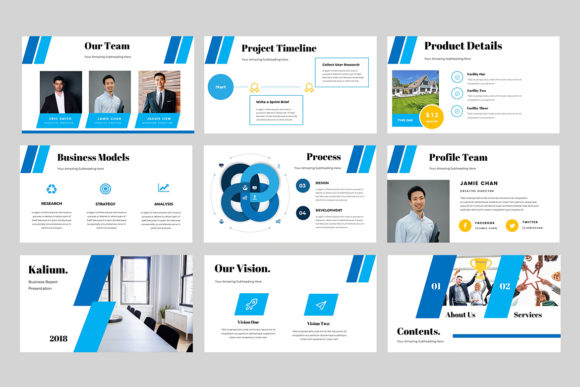 kalium corporate powerpoint presentation