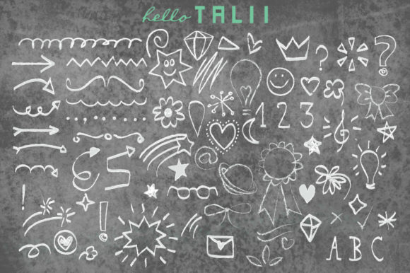 101 chalk doodles 3