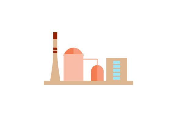 factory vector icon suitable