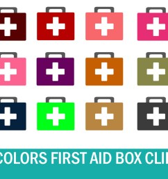 40 colors doctor first aid box clipart graphic by happy printables club creative fabrica [ 1500 x 1000 Pixel ]