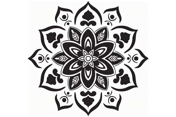 Mandala Vector Art Pattern (Graphic) by redsugardesign