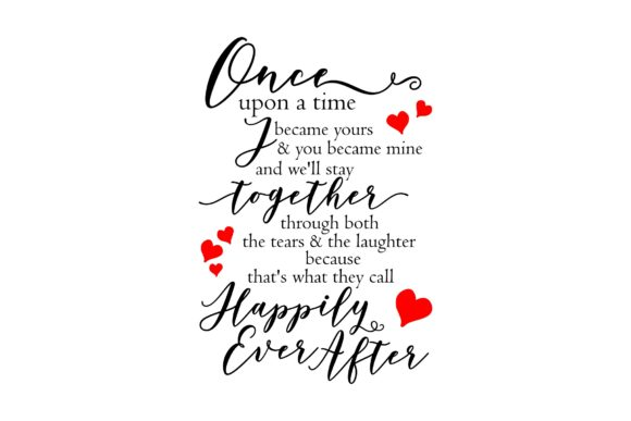 Once upon a time poem Graphic by Studio 26 Design Co