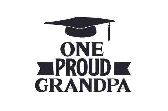 One Proud Grandpa SVG Cut file by Creative Fabrica Crafts
