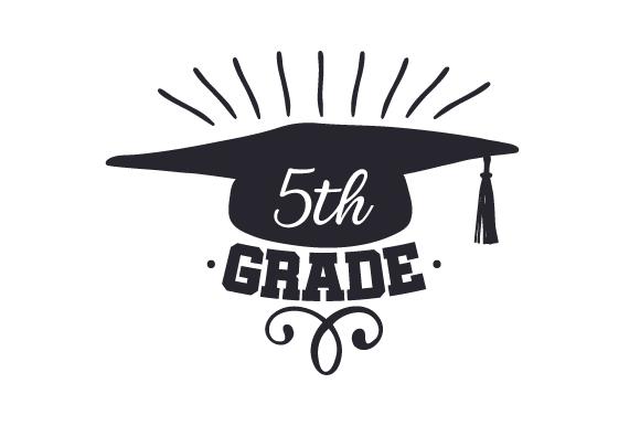 5th Grade (SVG Cut file) by Creative Fabrica Crafts