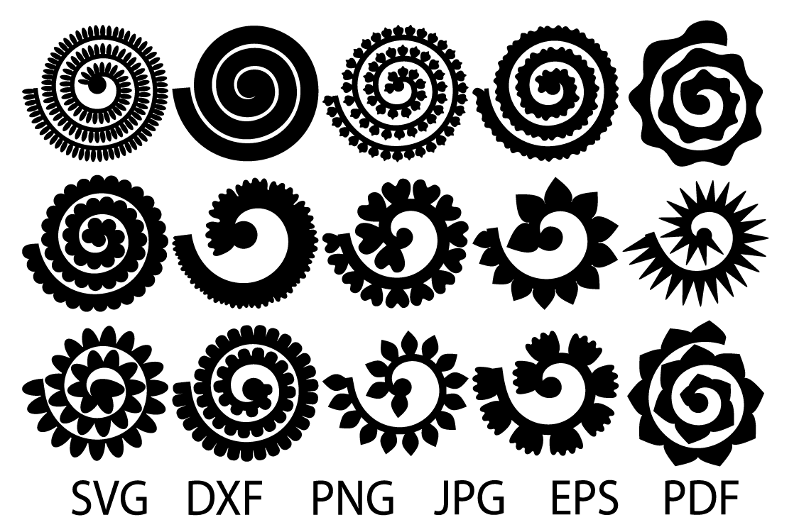 Download Svg Free Cricut Paper Flower Template - Premium SVG File