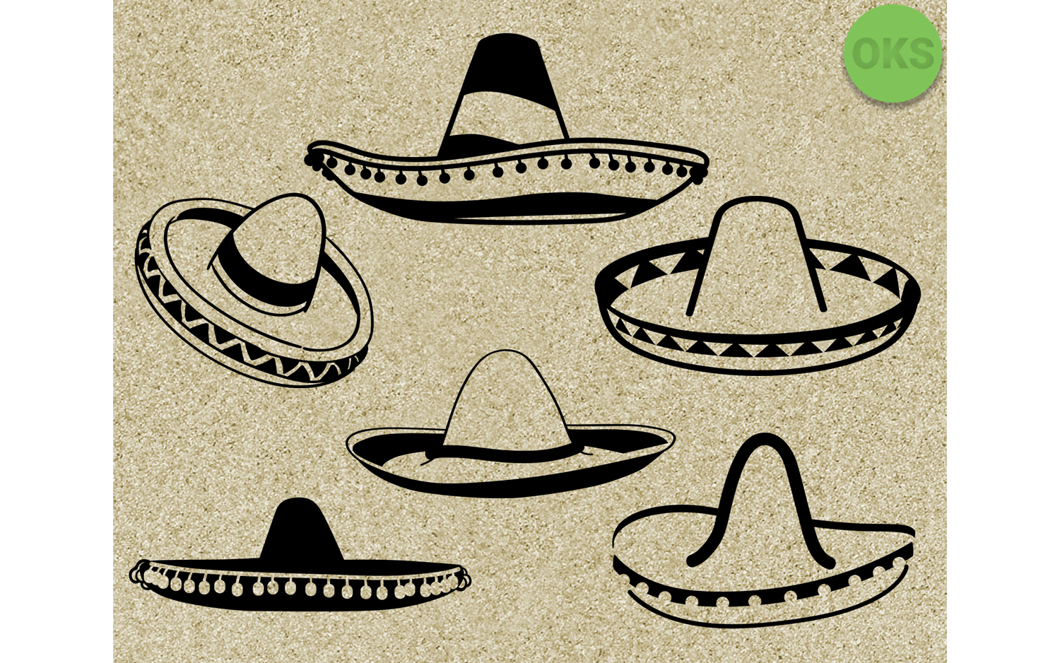 hight resolution of sombrero svg vector vecto clipart graphic by crafteroks creative fabrica