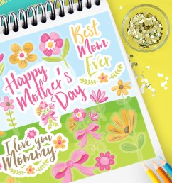 happy mother day clipart [ 1820 x 1214 Pixel ]
