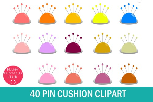 small resolution of pin cushion clipart graphic images graphic by happy printables club creative fabrica