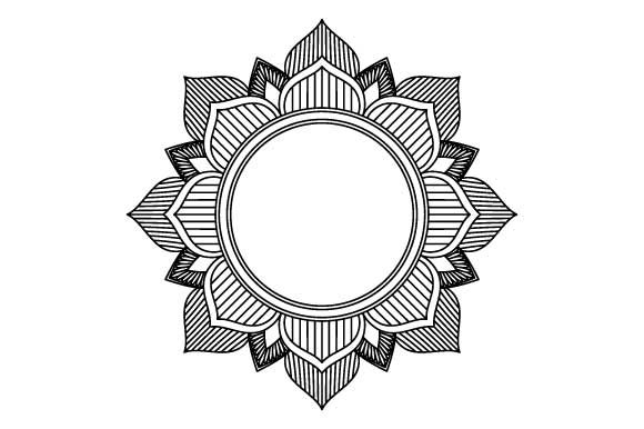 Simple Mandala For Beginners Graphic By Graphicsfarm Creative Fabrica