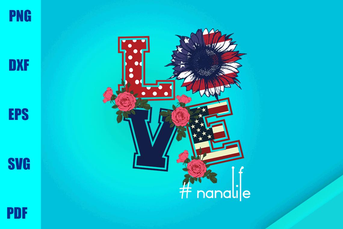 Download Love Nana Life (Graphic) by BUMBLEBEESHOP · Creative Fabrica