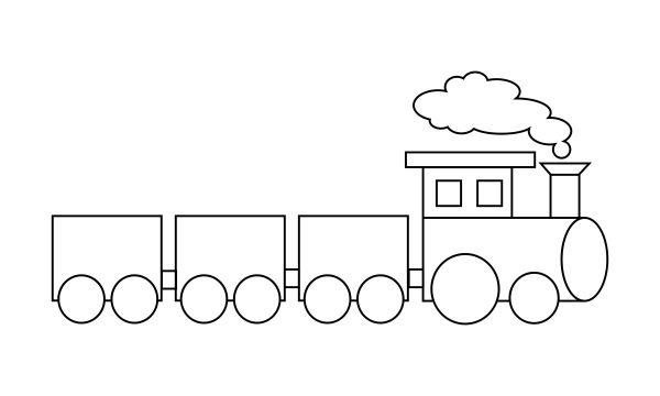train coloring # 2