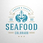 Seafood Restaurant Logo Design Template Grafico Por Vasyako1984 Creative Fabrica
