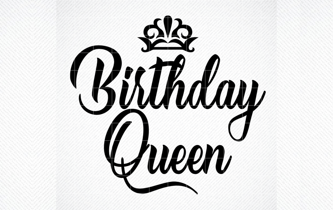 Birthday Queen with Crown (Graphic) by SVG DEN · Creative