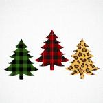 Christmas Tree Svg Buffalo Plaid Xmas Graphic By Svg Den Creative Fabrica