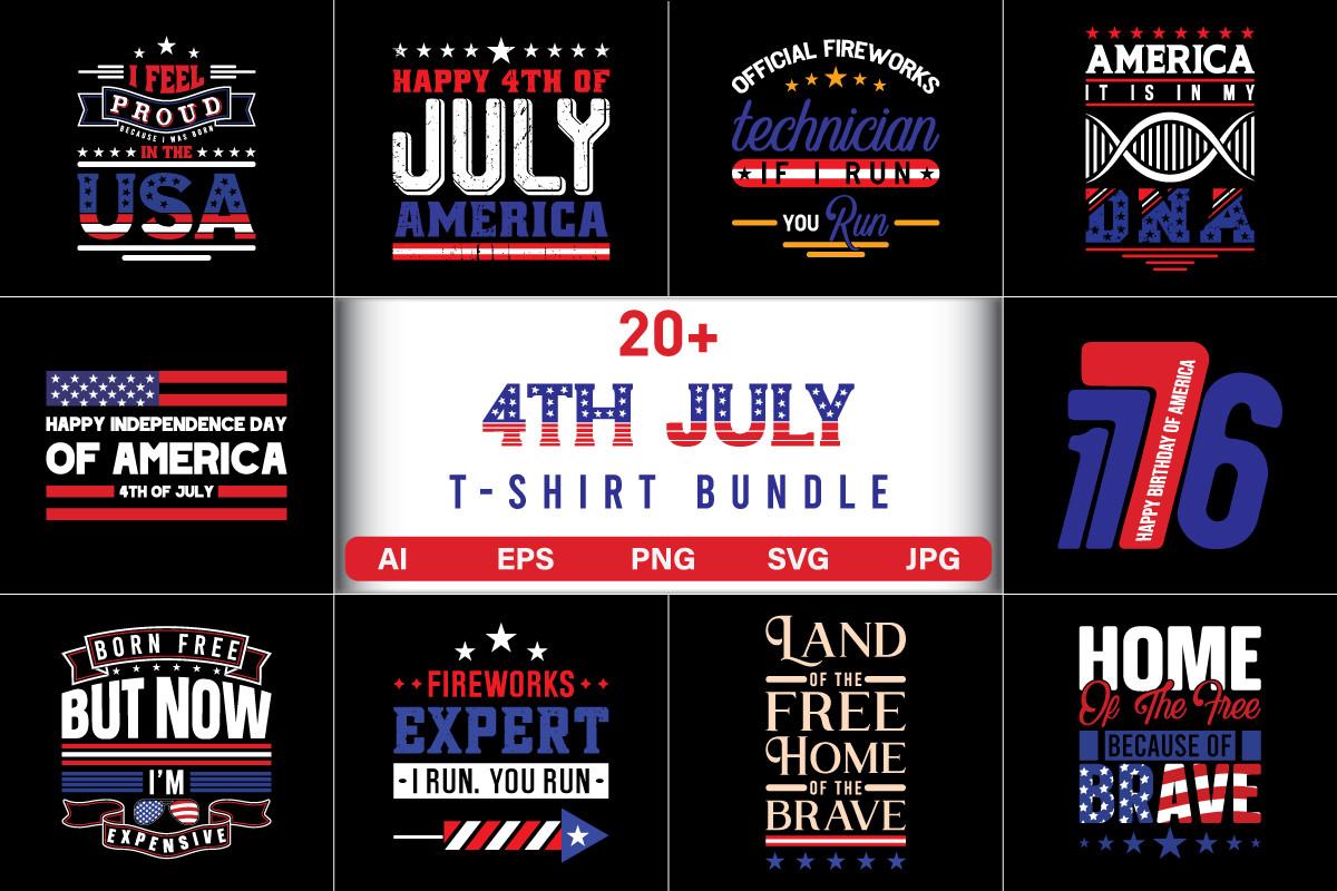 4th July T-Shirt Bundle