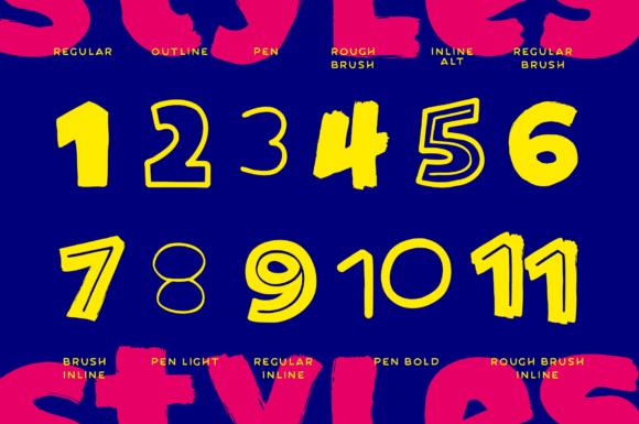 Comic Sidekick Fonts 15013401 2