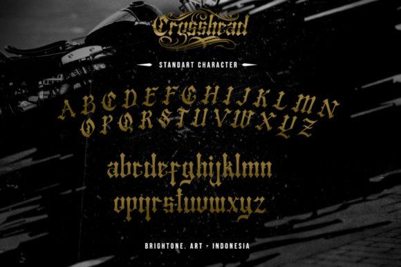 Crosshead Fonts 18070561 3