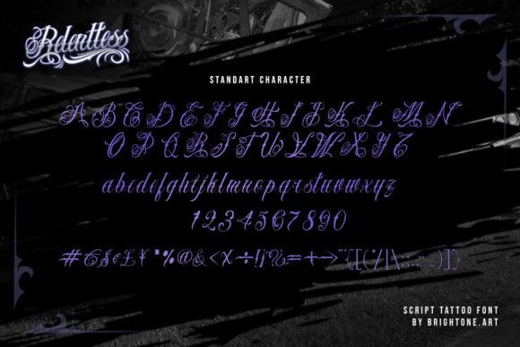 Relentless Fonts 18070606 3