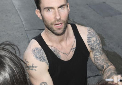 Adam Levine Tattoo
