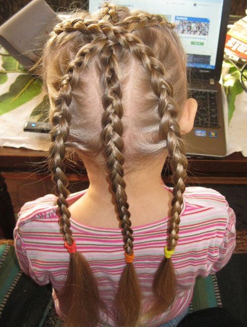 26 Cute Braided Hairstyles For Kids  CreativeFan