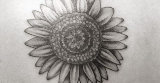 20 Sunflower Tattoos Black And Grey Owl Ideas And Designs