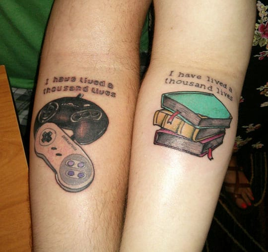 Cute Lock And Key Wallpaper His And Her Love Quote Tattoo Creativefan