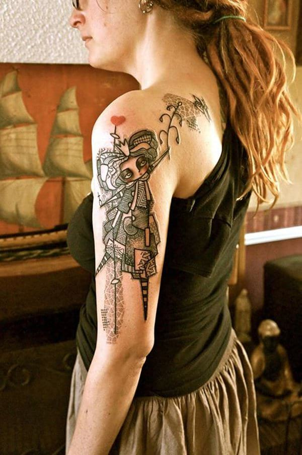 20 Arm Tattoos Girly Collage Ideas And Designs