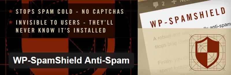 WP SpamShield Anti Spam