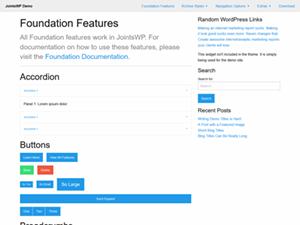 JointsWP for WordPress