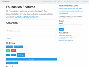 JointsWP for WordPress