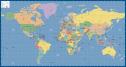World Map Eur Miller Map Digital Creative Force