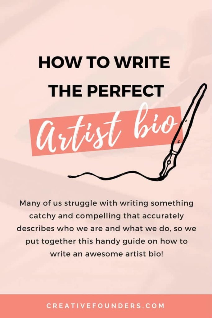 Artist Bios Writing The Perfect Artist Biography